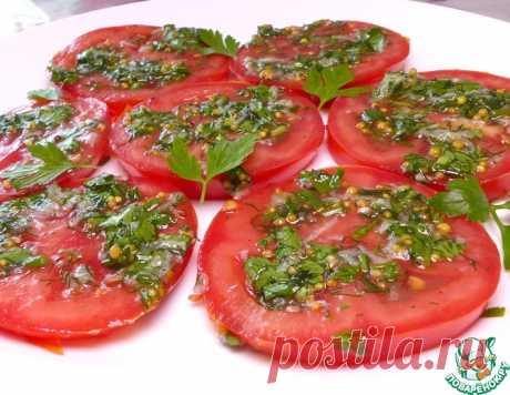Быстрые маринованные помидоры по-итальянски
