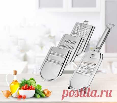 Кухонный овощной нож 5 в 1, слайсер, многоцелевой измельченный чеснок, Овощечистка, инструменты для нарезки, бытовые гаджеты, режущие приспособления для еды|Шредеры и слайсеры| | АлиЭкспресс