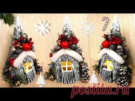 DIY Unusual Christmas Tree/New Year Decoration/Christmas crafts