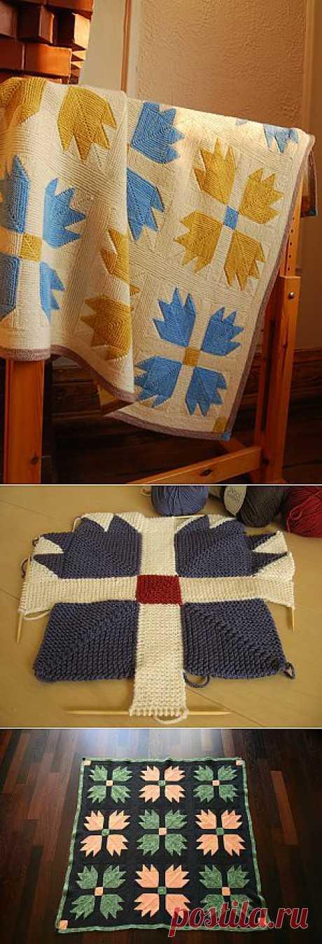 Очень красивый плед Bear Claw Blanket дизайнера Veronik Avery