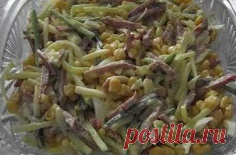 """Самые вкусные рецепты: Салат """"Соломка"""""""