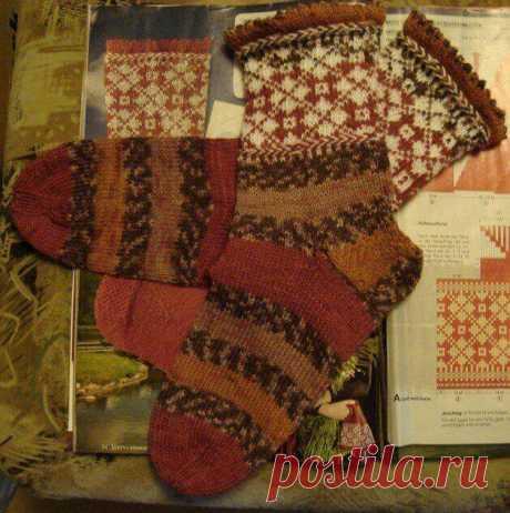 Эстонское народное вязание – виккель