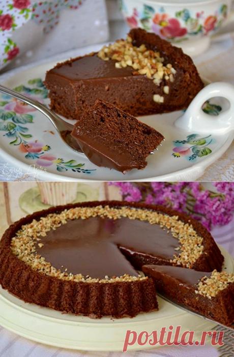 Джандуйя. Итальянский шоколадный торт.