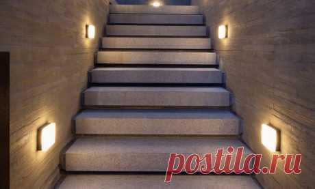 Подсветка лестницы в доме: реальные фото и примеры освещения Рекомендации по организации подсветки лестницы. Виды светильников, расположение освещения, идеи дизайна. Выбор под тип лестницы. Как сделать своими руками?