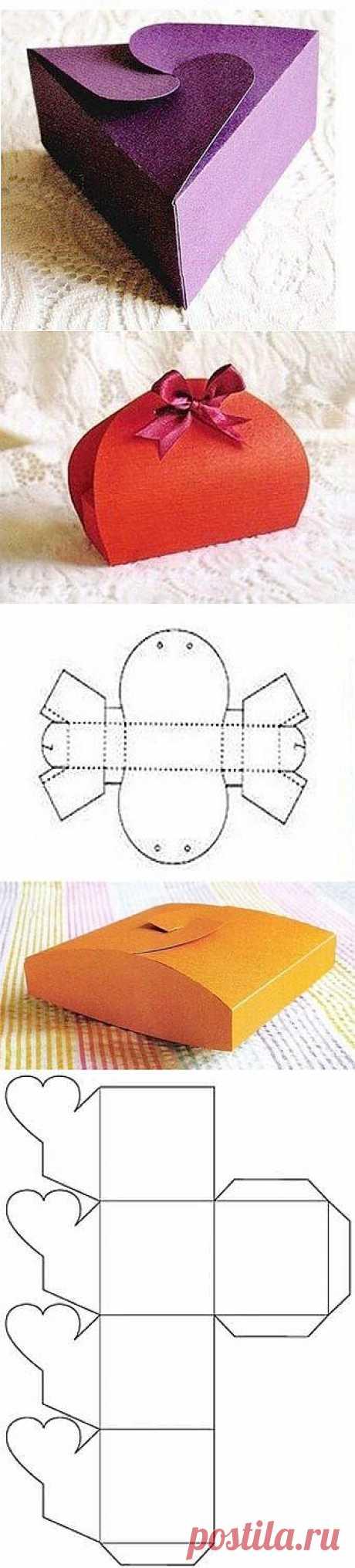 7 подарочных коробок со схемами сборки своими руками - Учимся Делать Все Сами