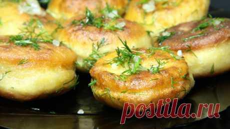 Быстрые ЧЕСНОЧНЫЕ пампушки на сковороде к борщу или супу | Короткие рецепты | Яндекс Дзен