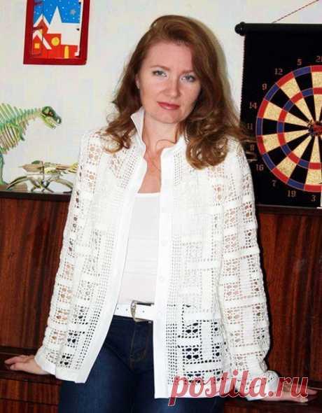 Женские рубашки крючком филейным вязанием – 5 схем узоров с описанием