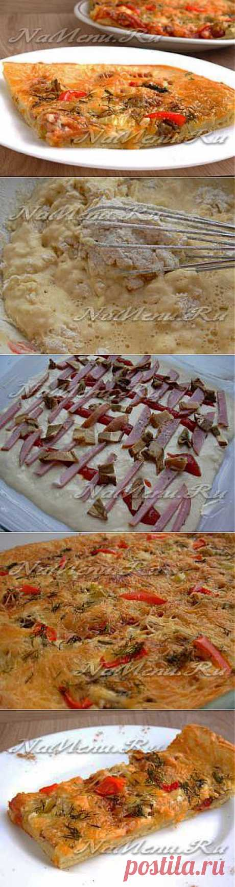 Instant pizza on the liquid test