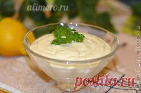 Looney - tasty cottage cheese sauce, almost like mayonnaise, is even better!