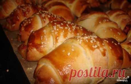 Круассаны без дрожжей - пошаговый рецепт с фото на Повар.ру