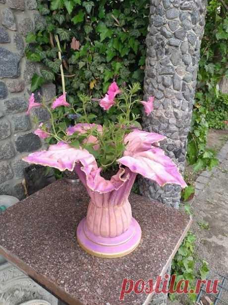 Отличные идеи садовых кашпо, каждое из которых можно легко сделать из полотенца и цемента