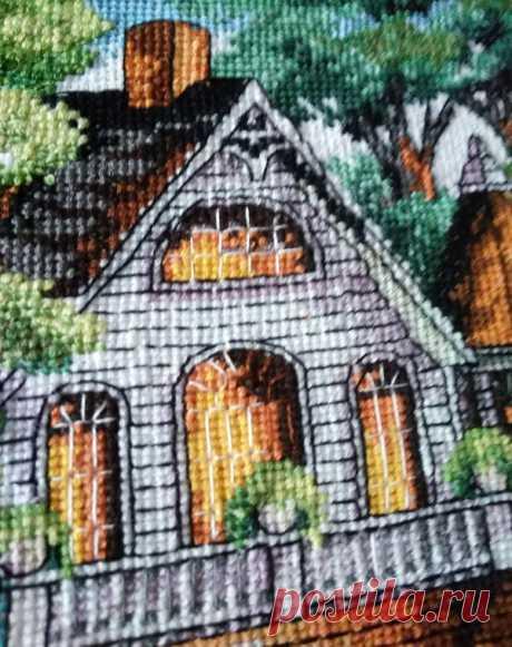 Викторианский дом | Dimensions 03874 Lovely Victorian Home | Вышивка. Крестик за крестиком | Яндекс Дзен