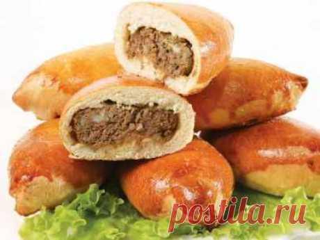 Пирожки с мясом: рецепты выпечки в духовке по шагам