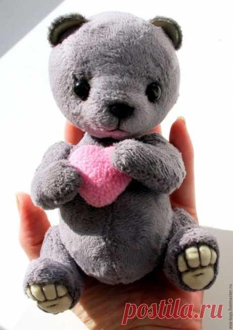 Мягкие игрушки: забавные медвежата — Поделки с детьми