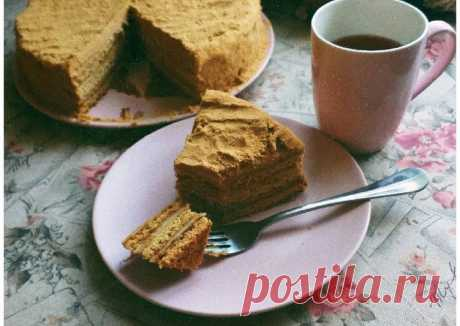Медовик Автор рецепта Kush.food - Cookpad