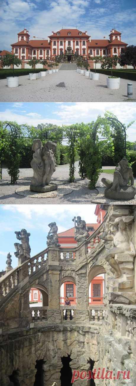 (+1) тема - Загородный замок Троя, г.Прага | Искусство