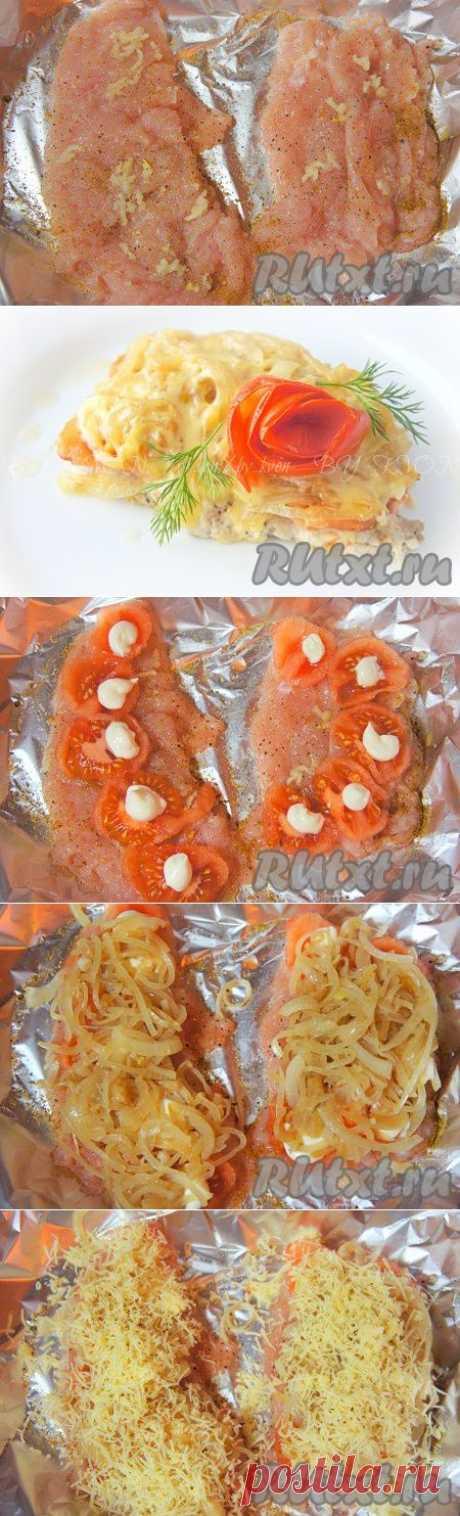 Куриные грудки с помидорами и сыром (рецепт с фото) | RUtxt.ru