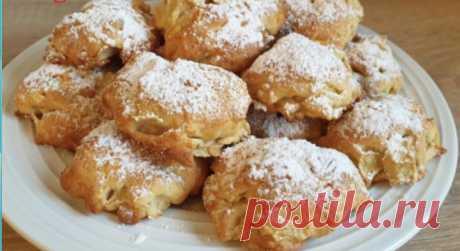 Знакомая итальянка научила готовить яблочное экспресс-печенье. Не нарадуюсь рецепту (без раскатки и нарезки)