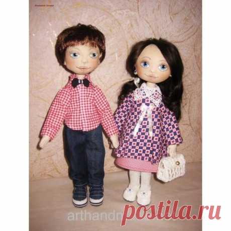 Майя и Кирюша - текстильная парочка
