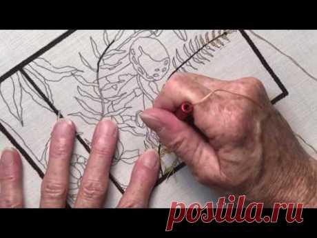 Lesson #6 - Advanced - Detail Punch Needle - Briar Cottage