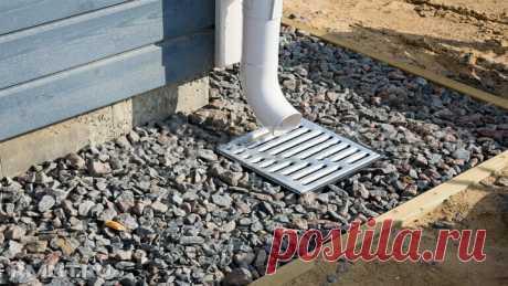 Отмостка из глины вокруг дома - 100% защита: дешево и просто - медиаплатформа МирТесен