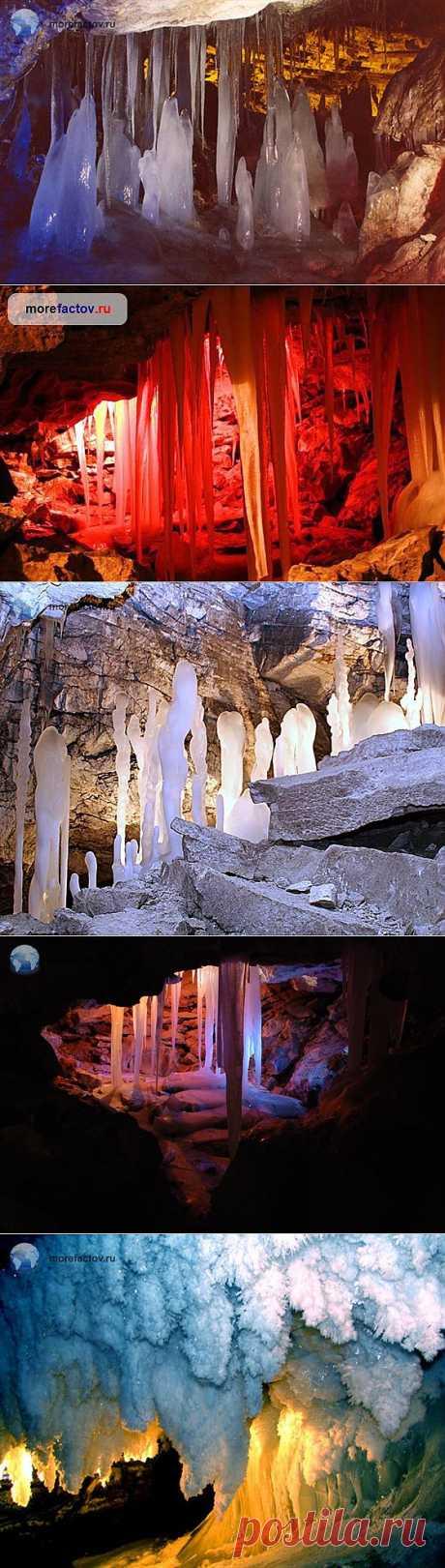 Кунгурская ледяная пещера, Россия - Море Фактов
