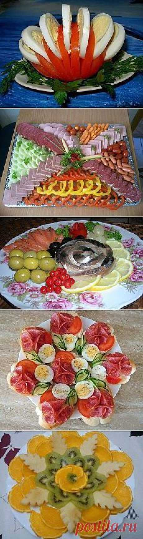 beautiful registration of dishes