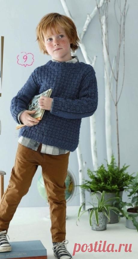 Пуловер (ВВХ Дети 2/2018).