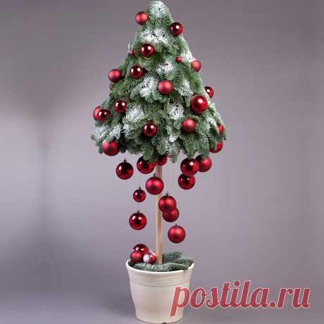 Новый год - Елка (ёлка) дизайнерская «Шик» (1 метр)