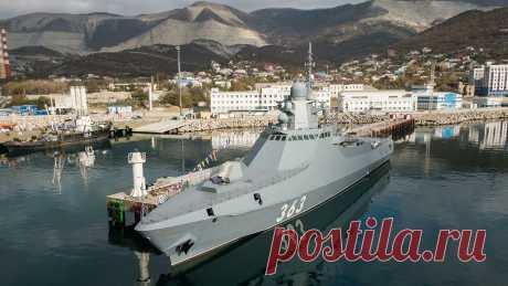 Введен в строй патрульный корабль «Павел Державин» проекта 22160 | world pristav - военно-политическое обозрение