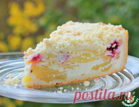 """Яблочный пирог """"Нежность"""" – кулинарный рецепт"""