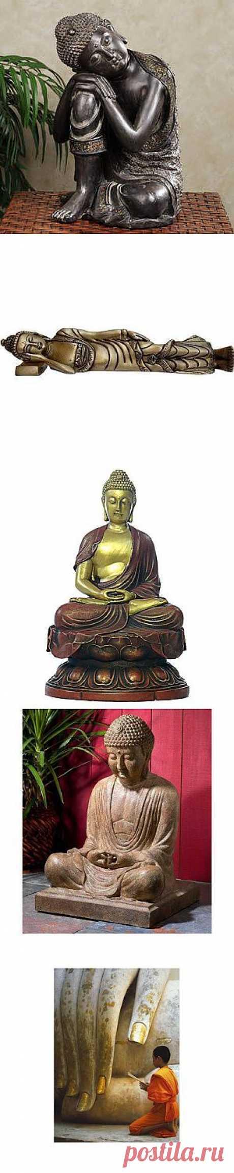 Будда и его лики | Ветер и Вода