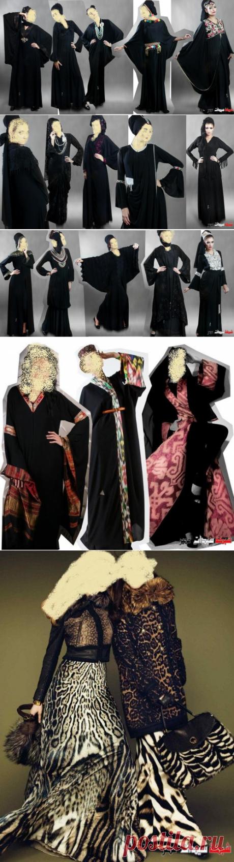 عبايات خليجية 2020- تألقي مع عبايات خليجية مطرزة موديلات 2020 - عبايات 2020 - Abaya fashion 2020