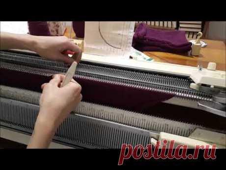 Расчет горловины Вязание полочки жилета с рюшами.