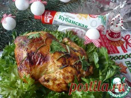 Курица в горчичном маринаде, запеченная в духовке