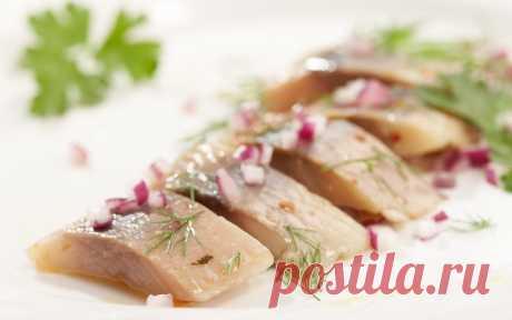 Разделка сельди без ножа ( видео ) — Кулинарная книга - рецепты с фото