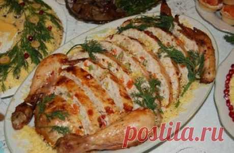 Курица, фаршированная ветчиной и сыром. Восхитительное блюдо для истинных гурманов!