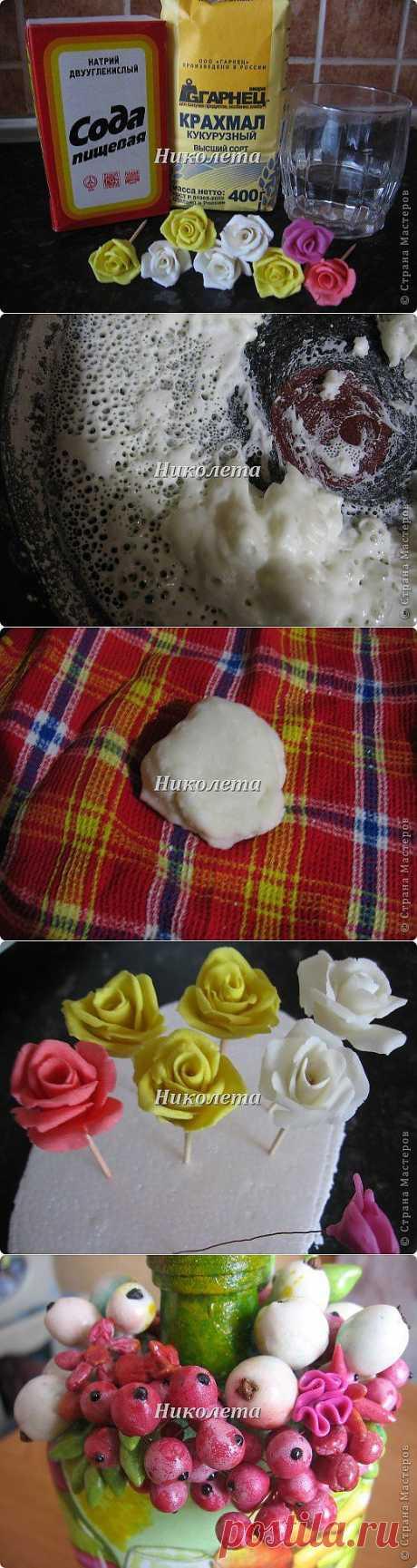 Самый простой рецепт холодного фарфора (мастики) БЕЗ КЛЕЯ!!! | Страна Мастеров