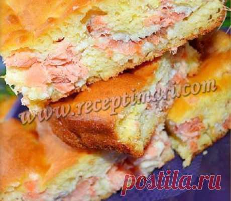 пирог с кетой рецепт