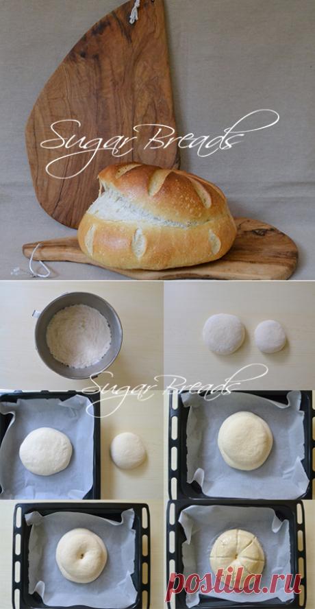 Старомодный деревенский хлеб | Sugar & Breads in Russia