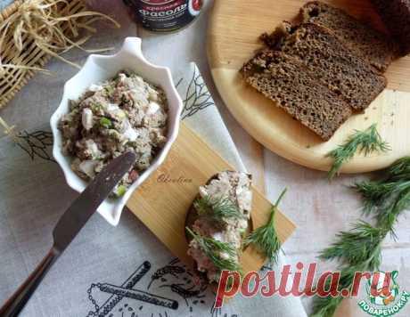 Шпротный паштет дома – кулинарный рецепт