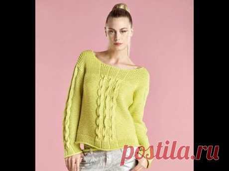 Пуловер Спицами - Подбор Моделей / Pullover Knitting Patterns