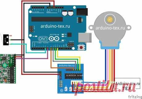 Замок с радиоуправлением на Arduino.