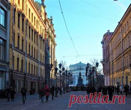 3 улицы Петербурга, по которым нужно обязательно погулять. | Путешествия по Петербургу | Яндекс Дзен