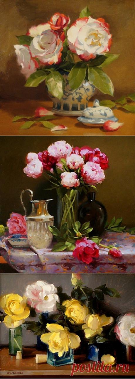 Цветочные натюрморты Лори Керси