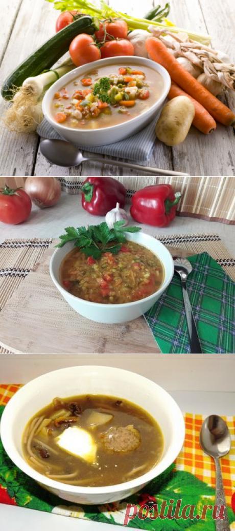 Рецепты первых блюд - 320 рецептов с пошаговыми фото