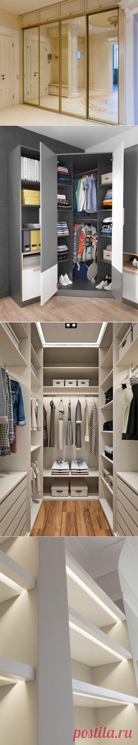 Как выбрать шкаф купе, если комната маленкая? | Интересный Интерьер | Яндекс Дзен
