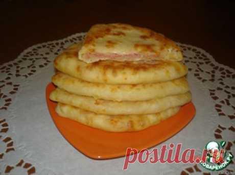 Сырные лепешки за 5 минут - кулинарный рецепт