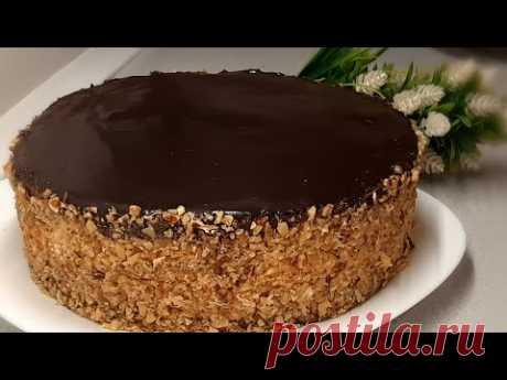 """Первым делом приготовлю этот торт на НОВЫЙ ГОД ! Торт с ангельским вкусом """" АЛЯ ПТИЧЬЕ МОЛОКО """"  !"""