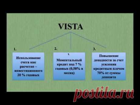 Возможности счета Виста Vista! Life is Good - лучшая MLM компания - https://lifeisgood.company/ !! ID 7038976 -для регистрации - https://bit.ly/2Vs7HRz